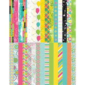 Picture of Pocket Party Border Strips by Katie Pertiet - Set 30